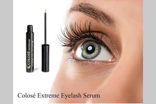 Få flotte fyldig øjenvipper og bryn med serum