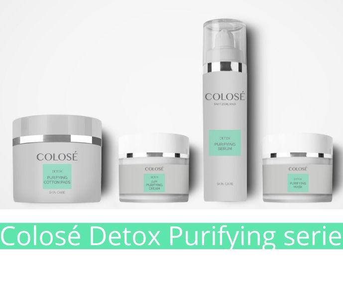 Detox Purifying Serie - Hudleje serie der afgifter hudens celler og genopbygger skadet hud