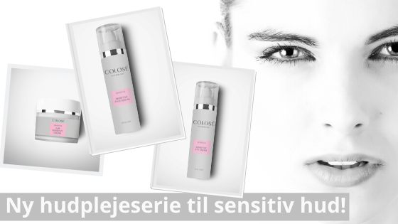 Ny hudplejeserie til sensitiv hud - Booster fugtighed i huden