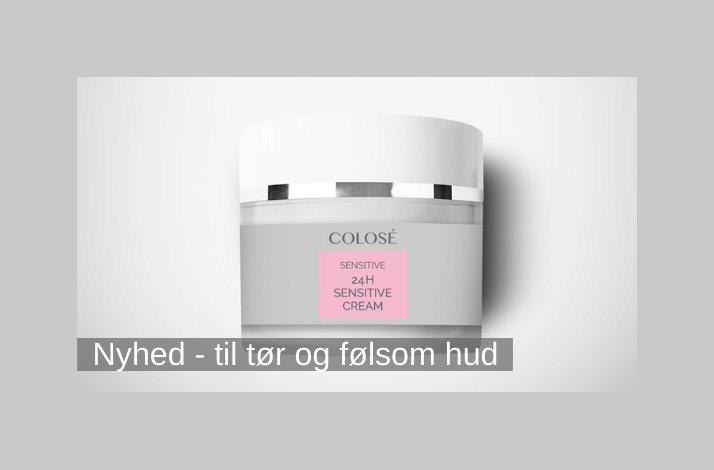 24 timers creme til tør og sensitiv hud - 50ml.